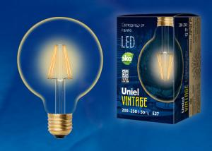 Uniel LED-G95-6W/GOLDEN/E27 GLV21GO