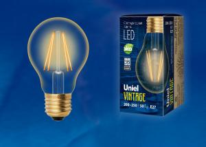 Uniel LED-A60-6W/GOLDEN/E27 GLV21GO