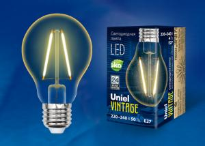 Uniel LED-A67-4W/GOLDEN/E27 GLV21GO