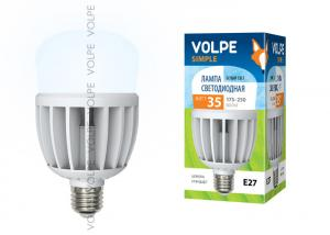 Volpe LED-M80-35W/NW/E27/FR/S картон