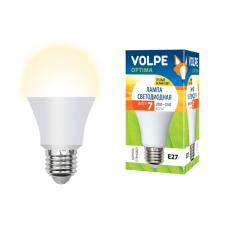 Volpe LED-A60-7W/WW/E27/FR/O картон