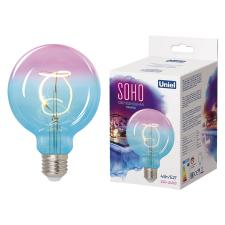 Uniel LED-SF01-4W/SOHO/E27/CW BLUE/WINE GLS77TR