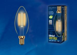 Uniel LED-C35-5W/GOLDEN/E14 GLV21GO